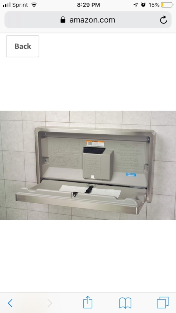 Koala Kare Stainless Steel Wall Mounted Baby Changing Station KB110-SSWM c9f62bf1-bd8a-4153-aac4-de28e8ce19c3