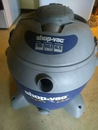 blue and gray Shop-Vac vacuum cleaner Brookfield Center, 44403