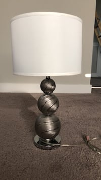 gray and white table lamp Nashville, 37207
