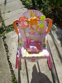 baby's multicolored Fisher-Price bouncer Toronto, M3N 2K8