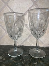 5 water 10 wine crystal glasses Oklahoma City, 73134
