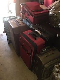 Small medium and large luggage hard cases $45-$200 College Park, 30349