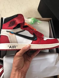unpaired Chicago Air Jordan 1 zapato con caja Barcellona, 08003
