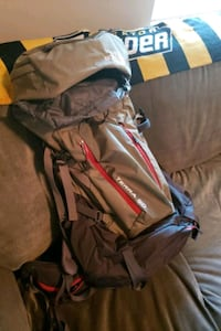 North face terra 50 backpacking backpack