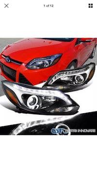 12-14 Ford Focus halo projector headlights La Puente