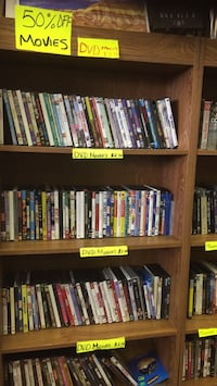 assorted DVD movie cases collection Laurel, 39440
