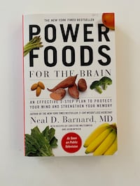 Power Foods for the Brain Dr. Neil Barnard Chevy Chase, 20815