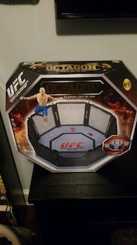 UFC Octagon and Pride Fighting Ring