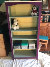 Freshly Refinished Fun Colorful Book Shelve.   Bowie, 20716