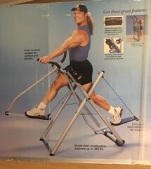 Exercise walking gazelle.  I am need sell for this.  I never used it since.
