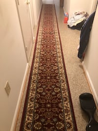 20'feet nice and beautiful runner, only 2 weeks old floral runner rug Fairfax, 22033