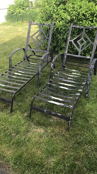 two brown wooden rocking chairs Farmingdale, 07727