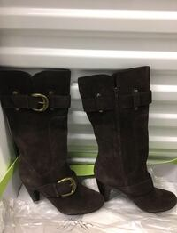 Kelly and katie suede boots.