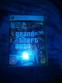Grand Theft Auto IV PS3 game case Petaluma, 94954