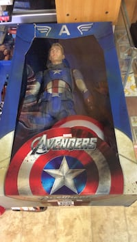 Marvel Avengers action figure box