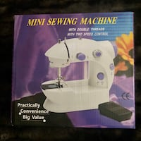 BRAND NEW • $40+ Retail Mini PORTABLE • SEWING Machine • Assembled