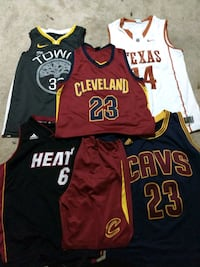 Different Basketball Jersey's