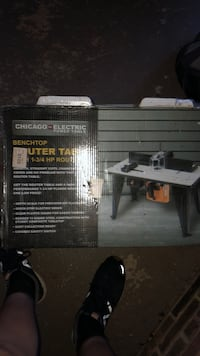 Router table Commerce, 30530