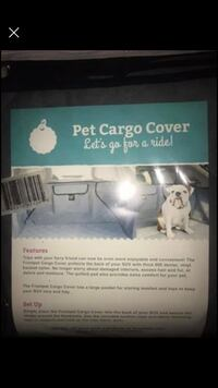 Pet cargo cover an bars for in back of SUV Sandy, 97055