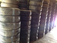 ** LOTS OF GOOD QUALITY USED TIRES SOME LIKE NEW **