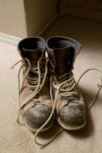 Stommpers work boots size 9 Edmonton, T5Y 1C7