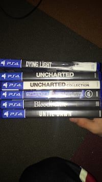 assorted PS4 game case lot Kitchener, N2M 4M9