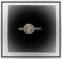 Double halo diamond ring  Toronto, M6C 3X2