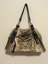 beige and black snakeskin leather tote bag Pasco, 99301