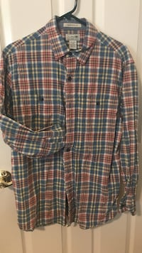 LL Bean Flannel men shirt Centreville, 20121