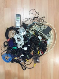 assorted wires,cables and cords. Windsor, N8T