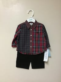 Boys CHAPS 2pc. set holiday/special occasion size-6 mos. Manasquan, 08736