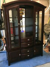 Ashley Furniture Lighted China Cabinet  Leland, 28451