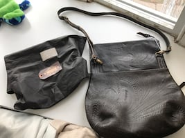 Leaders in leather tooled cross body bag, & Clutch, gorgeous