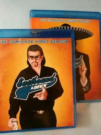Eastbound and Down season 1 and 2 blu rays