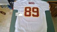Washington Redskins Moss youth sz XL 18-20 jersey Beechville, B3T 1A2