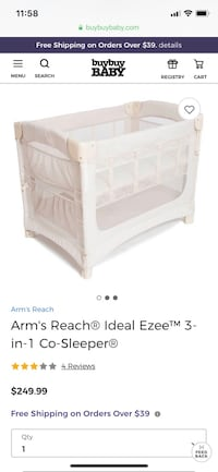 Co sleeping bassinet Gaithersburg, 20879