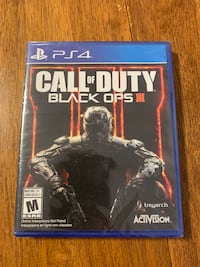 Call of duty black ops 3 PS4 (brand new) Barrie