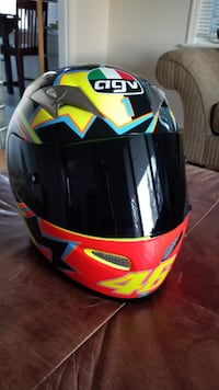 AVG Valentino Rossi #46 Motorcycle Helmet New Never Used ML