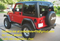 2OO3 Jeep Wrangler Rubicon Ed. 87k miles 5 Speed Lifted Super Clean Never been off road/mudding. Garage kept. NOTTINGHAM