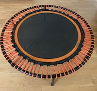 """Personal indoor Trampoline Rebounder - nearly new  49""""D. Great for kids / adults with ADD ADHD Autism"""