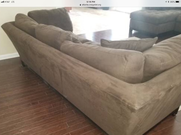 Sold Cindy Crawford Oversized Sofa In