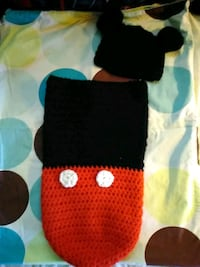 Hand made baby mickey mouse cozy 365 mi