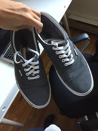 pair of black Vans low-top sneakers Toronto, M5C 2T3
