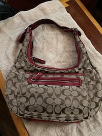 Red and Khaki Coach Bag Seat Pleasant, 20743