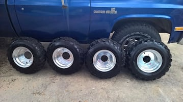 ATV RIMS and TIRES - DWT ATV rims with Carlsile atv tires
