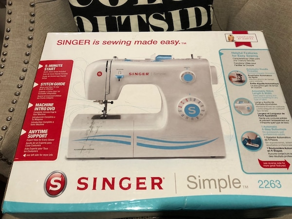 Used Sewing Machine Singer Simple 40 For Sale In Dallas Letgo Enchanting Singer Sewing Machine 2263