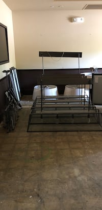 black metal bunk bed frame Menlo Park, 94025