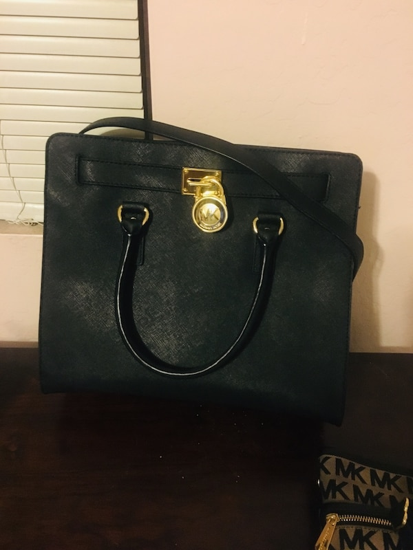 140ccffaa6cf94 Used black Michael Kors leather 2-way handbag. Used once. for sale in  Phoenix