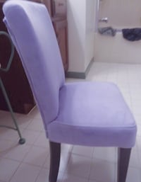 Purple Suede Child's Chair Columbia, 21045