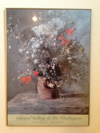 National Gallery of Art, Washington Color Poster, featuring a work by Auguste Renoir (1009611) South San Francisco